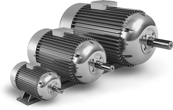 Industrial electrical motors
